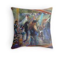 Simply Bushed CD launch Throw Pillow