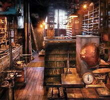 Machinist - Ed's Stock Room by Mike  Savad