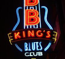 B. B. King's Blues Club on Beale Street by Susan Russell