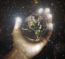 He's Got The Whole World In His Hands by Phoebe Marple-Horvat