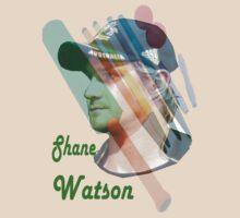 Shane Watson'T' Shirt. All profits to the RSPCA by Alex Gardiner