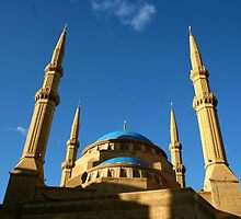 Mohammad Al-Amin Mosque, Beirut, Lebanon by Ellen Hermans
