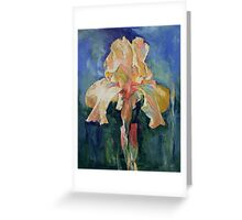 Dutch Iris Greeting Card