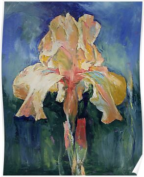 Dutch Iris by Michael Creese