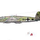 Heinkel He-111H, 1940 by Jack Froelich