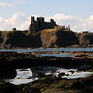 Tantallon Castle - Scotland by Derek McMorrine