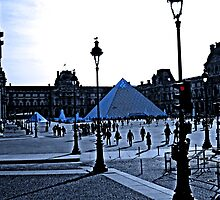 The Louvre Museum by Al Bourassa