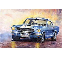 Ford Mustang GT 350 1966 Photographic Print