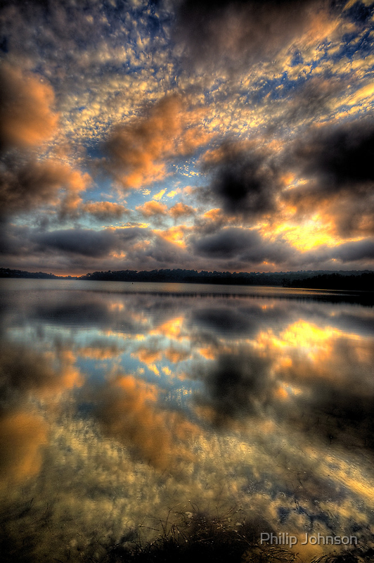 Meditation - Narrabeen Lakes, Sydney - The HDR Experience by Philip Johnson