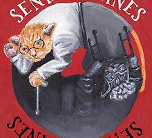 Senile Felines by nicholaswright