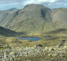 Great Gable and Sprinkling Tarn by VoluntaryRanger