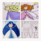 Pockets Full of Love - 3 fairies by Midori Furze