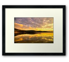 Peace - Narrabeen Lakes, Sydney - The HDR Experience Framed Print