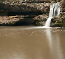 Swirling Waters, Upper Falls - Hocking Hills by Shannon Workman
