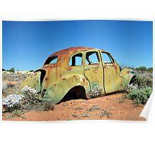 Austin A40 Devon - Kookynie, WA Poster