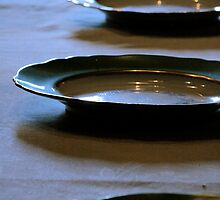 Antique dinnerware - Werribee Mansion, Melbourne by Vanessa Norris