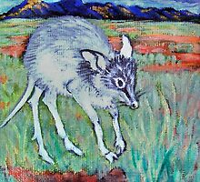 Spirit Animal - the Pig-footed Bandicoot by Brita Lee