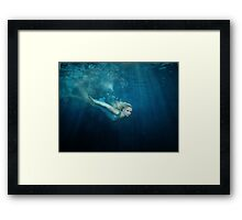 OCEANIC FAIRYTALES - Down the rabbit hole Framed Print