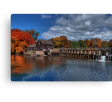 Mill - Sleepy Hollow Canvas Print