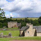 Craignethan Castle, Lanark,Scotland by ElsT