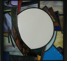 Square Mirror No 4 by Jeffrey Hamilton