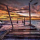 Future Elwood Pier by Garry Hannah
