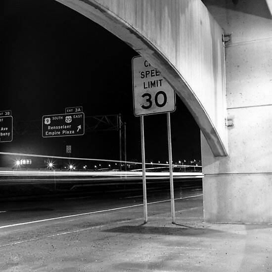 Medium Format Photography: 787 Ramp by Brandon Segal