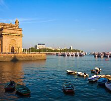 Gateway to India and Marina by Nickolay Stanev