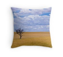 Almost ready for the harvest Throw Pillow