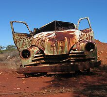 Old car by JohnHolmes
