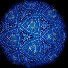 Mandala Yellow Arrows by Mario  Scattoloni