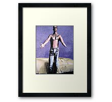 I Gave Him My Hand And Told Him To Die Framed Print