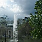Crystal Palace in April by OlurProd