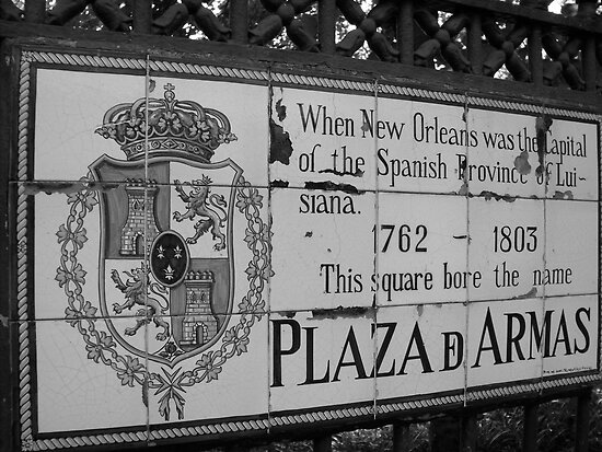 Plaza D Armas- New Orleans, Louisiana by Amanda Yetman