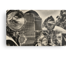 old packard chrome Metal Print