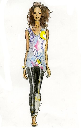 fashion illustration 2 by CTDesigns