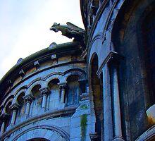 Gargoyle Of Sacre Coeur by Al Bourassa