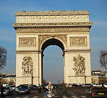 Arc De Triomphe II by Al Bourassa