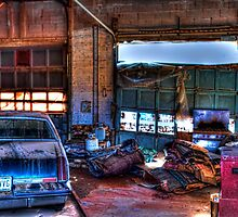 Downtown Garage by Paul Hailes