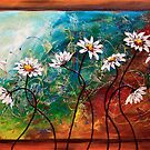 The Tangle of Daisies by Abstract D&#x27;Oyley