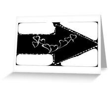 Black & White Love Greeting Card