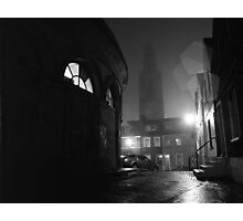 Shandon And The Firkin Crane In The Fog Photographic Print