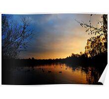 Charnwood Lake Poster