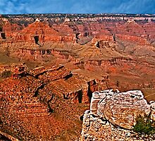 Grand Canyon South Rim Photograph, Print by trevortrent