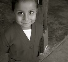 Happy Mayan Child by Alex Marshall