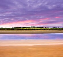 Coorong Sunset I - Limestone Coast, South Australia by Mark Richards