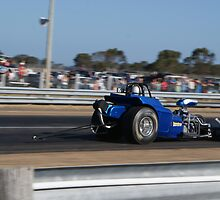 Dragster at Bairnsdale drags. by CarrieCollins