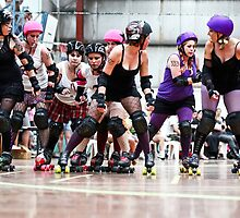 Newcastle Roller Derby League January Jam 5 by Mark Snelson