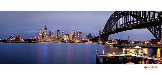 Sydney Night by Kirk  Hille