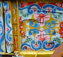 Ox Cart detail, Costa Rica, Jarazal by Guy Tschiderer